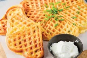 Patates Waffle