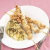 Garnitürlü Tavuk Şiş Tarifi