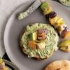 Mini Pita Ekmeği Üzeri Sebzeli Tavuk Şiş Tarifi